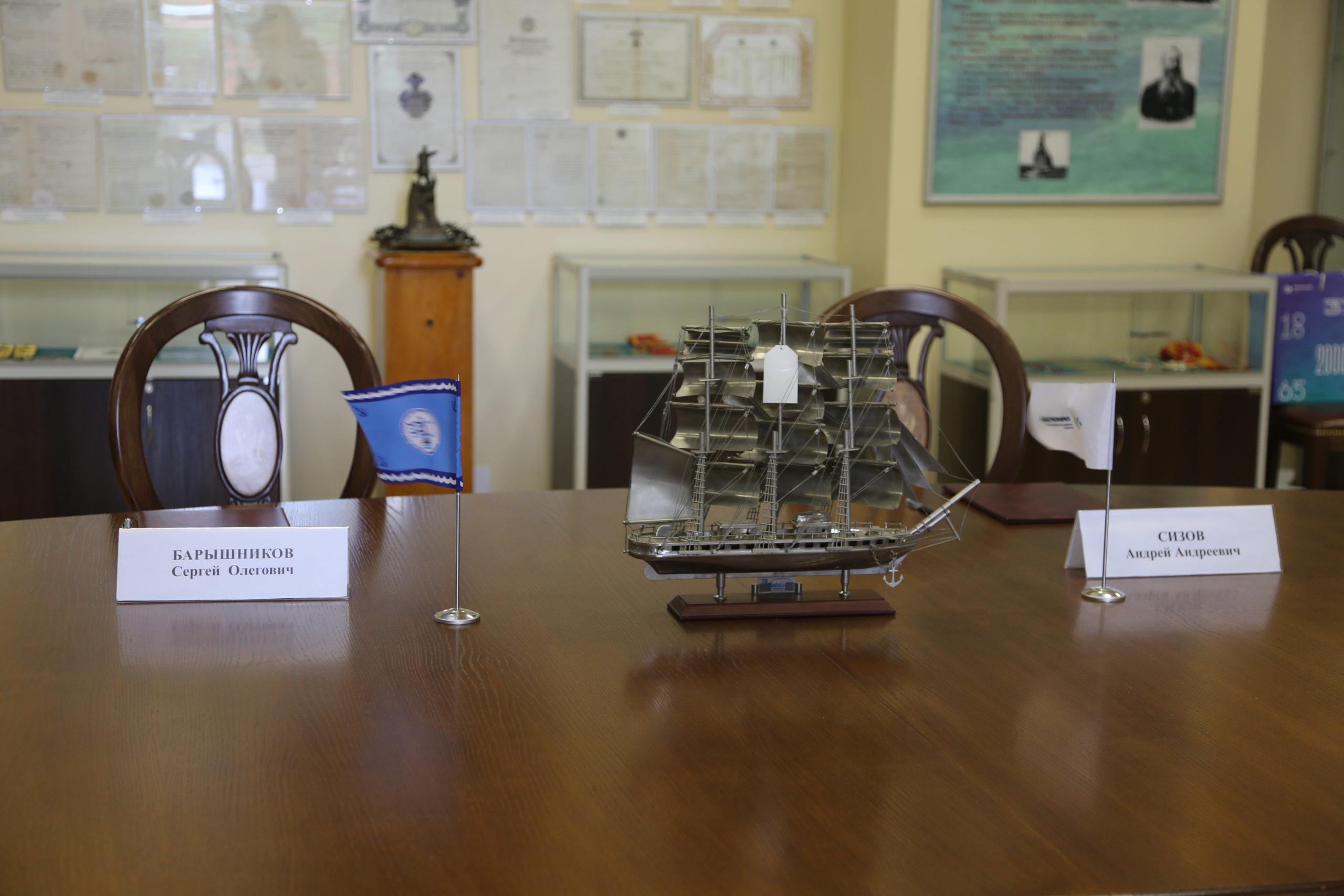 ООО «Приморский УПК» подписало соглашение о сотрудничестве  с ГУМРФ имени адмирала С.О. Макарова